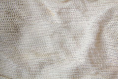 Sackcloth woven texture pattern background in light sepia tan beige cream brown color tone: Eco friendly raw organic Stock Photo