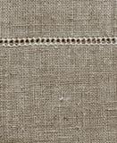 sackclothstruktur Royaltyfri Foto