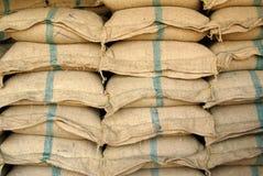 Sackful do arroz Imagem de Stock
