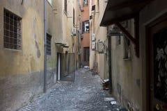 Sackgasse in Rom lizenzfreie stockfotografie