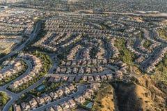Sackgassen-Gipfel in Porter Ranch California lizenzfreie stockbilder