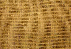 Sacking background. Cord textile texture royalty free stock photography