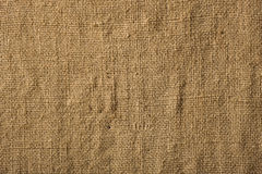 Sacking, hessian. Back, background, structure from a sacking Royalty Free Stock Photo