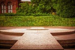 Sackler Gallery Walkway Royalty Free Stock Photography