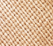 Sacks of hemp rope background Stock Photography