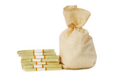Sacks of money Stock Photo