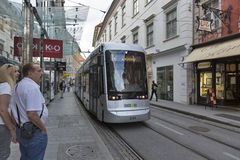 Sackstrasse street in Graz, Austria royalty free stock photography