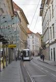 Sackstrasse street in Graz, Austria royalty free stock photos