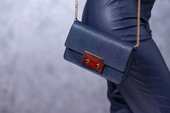 Sackt Modetrends ein Schließen Sie oben von der herrlichen stilvollen Tasche Fashionab Stockbilder
