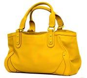 Saco amarelo Imagem de Stock Royalty Free