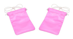 Saco cor-de-rosa Imagens de Stock Royalty Free