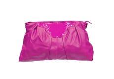 Saco cor-de-rosa bonito da composição (cosméticos) Imagens de Stock