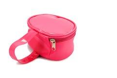 Saco cor-de-rosa dos miúdos Foto de Stock