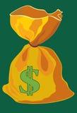 Saco--dólar Imagenes de archivo