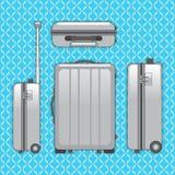 Saco da bagagem do viajante Fotos de Stock Royalty Free