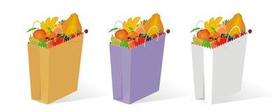 Saco da fruta Imagens de Stock Royalty Free