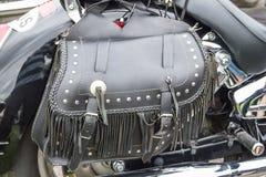 Saco da motocicleta Fotos de Stock Royalty Free