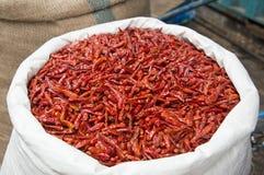Saco da pimenta Foto de Stock