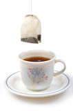 Saco de chá Fotografia de Stock