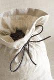 Saco de cofee Fotografia de Stock