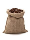 Saco de Coffe Fotografia de Stock