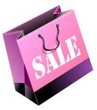 Saco de compra Imagem de Stock Royalty Free