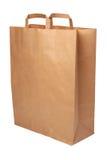 Saco de compra de papel. imagem de stock royalty free