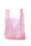 Saco de compra plástico Imagem de Stock