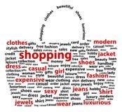 Saco de compras Fotografia de Stock Royalty Free