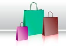 Saco de compras Foto de Stock Royalty Free
