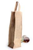 Saco de compras de Eco feito fora do saco reciclado da juta Fotos de Stock