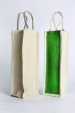 Saco de compras de Eco feito fora do saco reciclado da juta Imagens de Stock