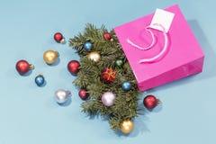 Saco de compras do feriado imagens de stock royalty free