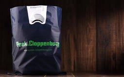 Saco de compras do plástico original do auge & do Cloppenburg imagem de stock royalty free