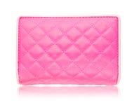 Saco de couro cor-de-rosa Imagem de Stock Royalty Free