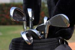 Saco de golfe Fotografia de Stock