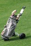 Saco de golfe Imagens de Stock Royalty Free