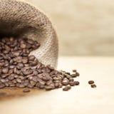 Saco de granos de café Imagen de archivo