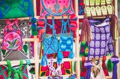 Saco de Huichol Imagens de Stock