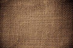 Saco de la arpillera Foto de archivo libre de regalías