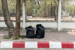 Saco de lixo Imagens de Stock