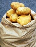 Saco de patatas Foto de archivo