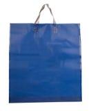Saco de plástico azul fotos de stock royalty free