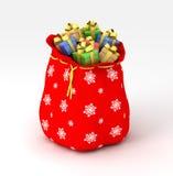 Saco de presentes fotos de archivo libres de regalías