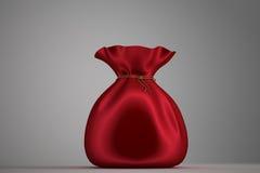 Saco de Santa completamente de presentes Imagem de Stock
