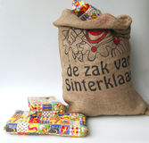 Saco de Sinterklaas Imagem de Stock