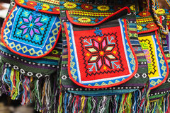 Saco decorado étnico. Foto de Stock Royalty Free