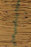 Saco del cáñamo Imagen de archivo libre de regalías