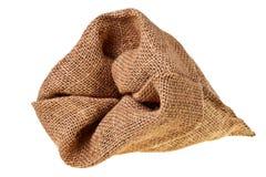 Saco del yute. Foto de archivo libre de regalías