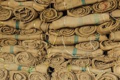 Saco do cânhamo Foto de Stock